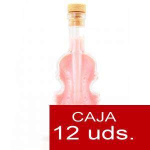 Imagen Licores, orujos y crema Crema de Fresas y Nata Torre María VIOLÍN - CAJA DE 12 UDS