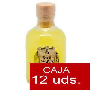 Licores, orujos y crema - Licor de Limón ROCÍO 50 (Torre María) - CAJA DE 12 UDS
