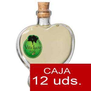 Licores, orujos y crema - Orujo de Hierbas Villa Lucía CUORE 10 cl. CAJA DE 12 UDS (Últimas Unidades)