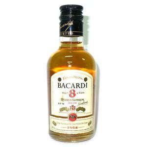 Ron - Ron Bacardi 8 años 5cl (Últimas Unidades)