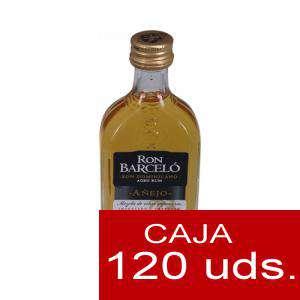 Ron - Ron Barceló Añejo 5cl CAJA DE 120 UDS