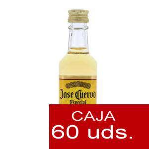 Tequila - Tequila Jose Cuervo Especial Tequila Reposado 5cl CAJA DE 60 UDS