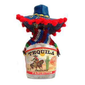 Tequila - Tequila Panchitos 5cl (Sombrero en colores surtidos)