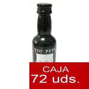 Vino - Vino Tío Pepe Jerez (Envase de Plástico) CAJA DE 72 UDS