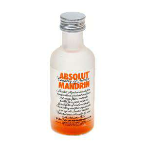 Vodka - Vodka Absolut Mandrin 5cl