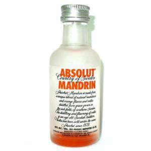 Imagen Vodka Vodka Absolut Mandrin 5cl