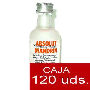 Imagen Vodka Vodka Absolut Mandrin 5cl CAJA DE 120 UDS