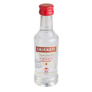 Vodka - Vodka Smirnoff 5cl