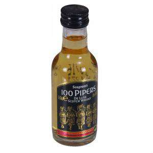 Whisky - Whisky 100 pipers 5cl