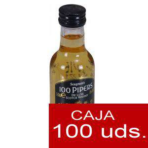 Whisky - Whisky 100 pipers 5cl CAJA DE 100 UDS