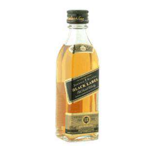 Whisky - Whisky Johnnie Walker Etiqueta Negra 5cl (OFERTA 2019)