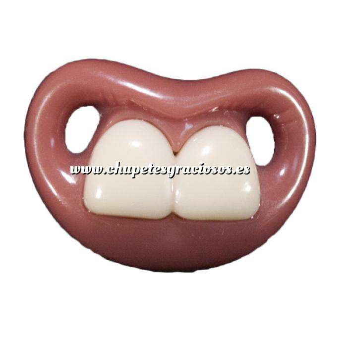 Imagen Chupetes Dientes Chupete Ñajai (Sin Anilla) - Two Front Teeth Pacifier Billy Bob