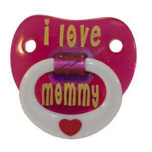 Chupetes Dientes - Chupete I Love Mommy - I Love Mommy Pacifier Billy Bob