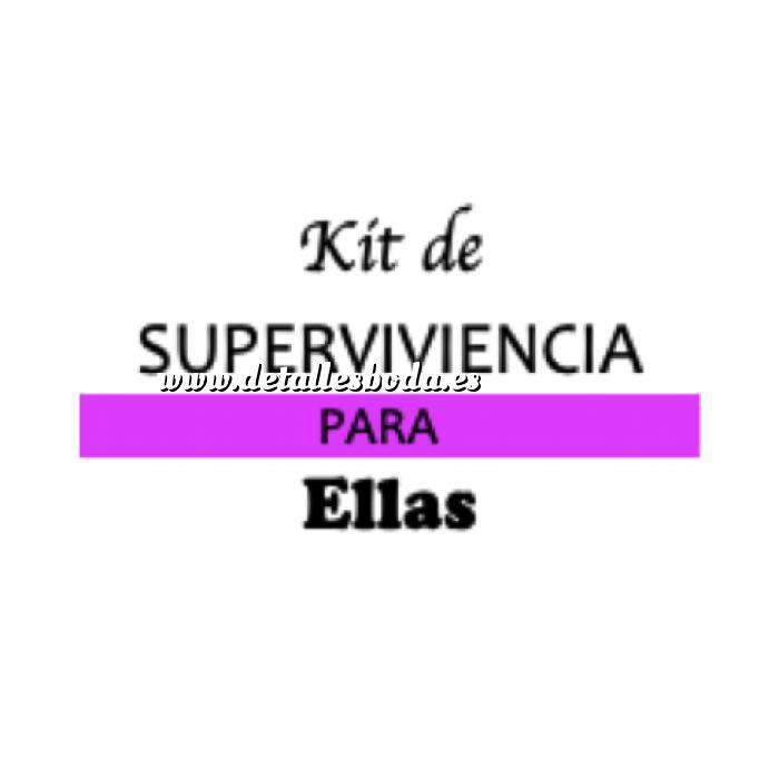 Imagen Baño y aromas KIT individual de Supervivencia para bodas (ELLAS)