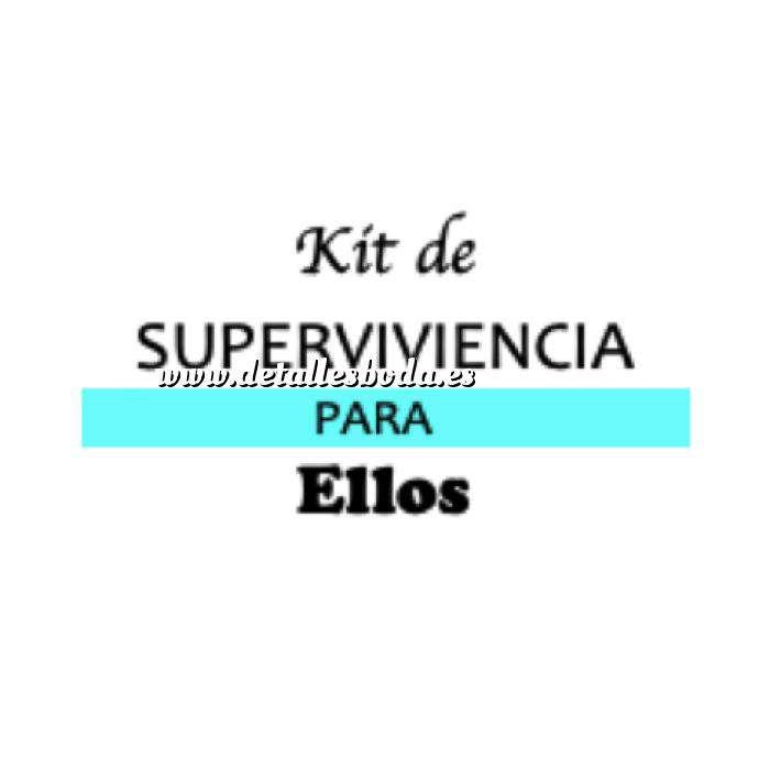 Imagen Baño y aromas KIT individual de Supervivencia para bodas (ELLOS)