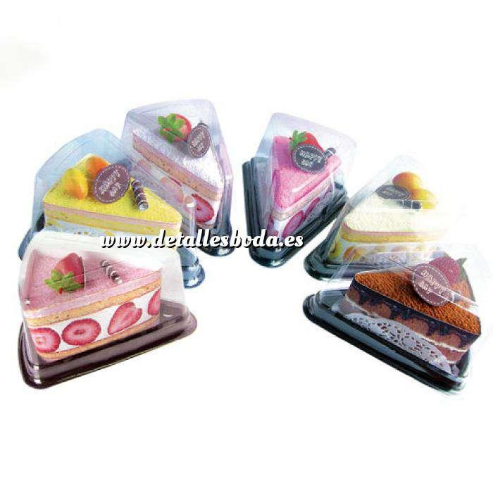 Imagen Baño y aromas Toalla Porción Tarta Colores (Últimas Unidades)