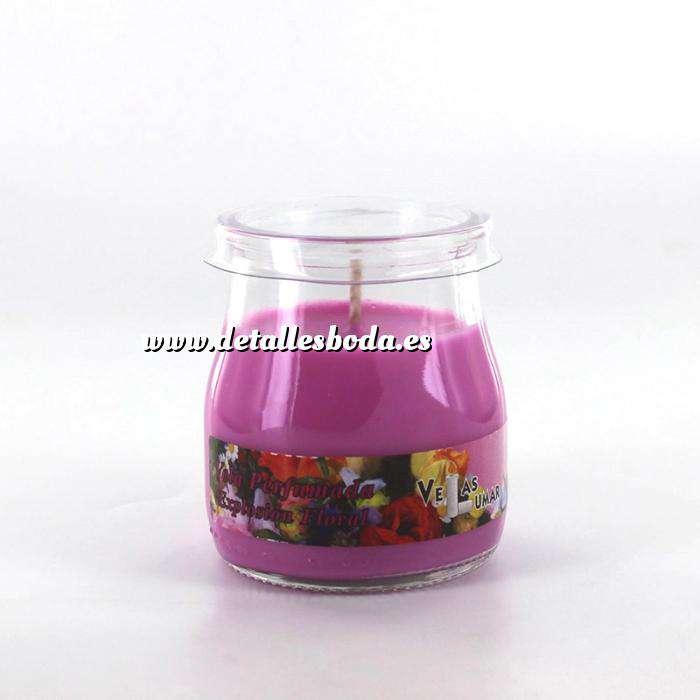 Imagen Baño y aromas Velas perfumadas tarro de yogur (aromas surtidos)