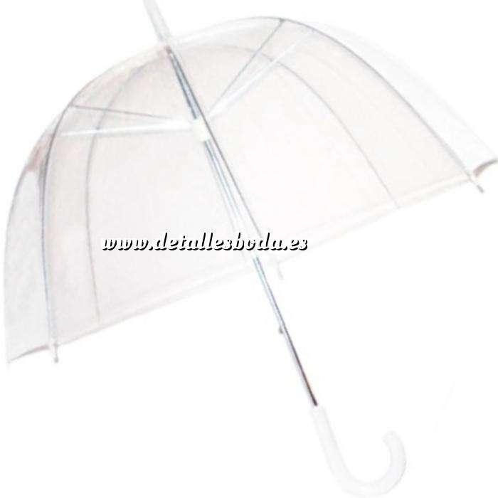 Imagen Especial Novias Paraguas o Parasol Transparente