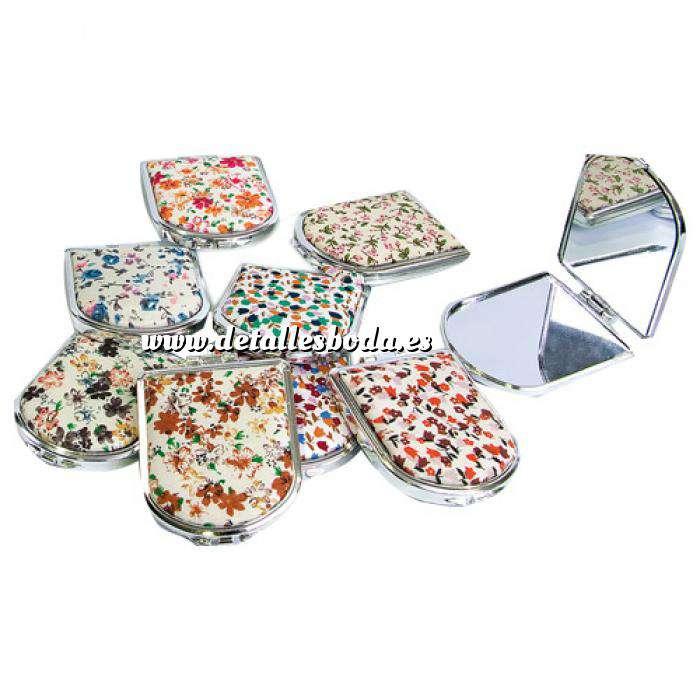 Imagen Espejos, Joyeros y Bisuteria Espejo con estampado de flores (Últimas Unidades)