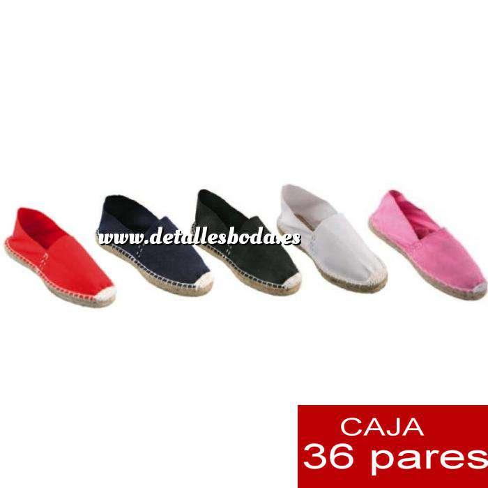de9ecd250a4 Imagen Mujer Cerradas Alpargatas cerradas MUJER 5 colores - caja 36 pares
