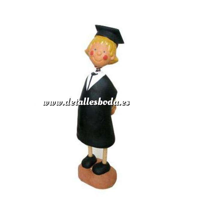Imagen Novios tarta Clásicos Figura Pastel Graduada (Chica)