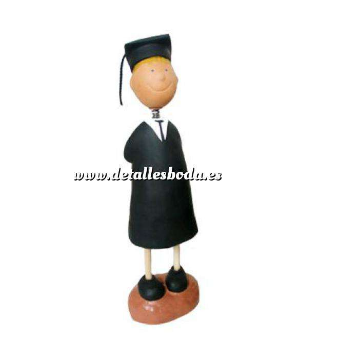 Imagen Novios tarta Clásicos Figura Pastel Graduado (Chico)