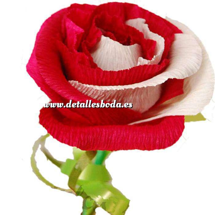 Imagen Prácticos mujer Flor Bombón - Tamaño Grande - Bicolores