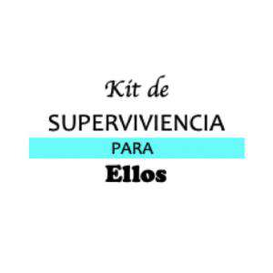 Baño y aromas - KIT individual de Superviviencia para bodas (ELLOS)