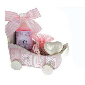 Baño y aromas - Set de baño coche LOVE - SOLO COLOR ROSA (Últimas Unidades)
