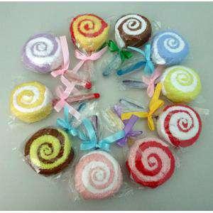 Detalles de Bautizo - Piruletas de toalla MINI colores surtidos (Últimas Unidades)