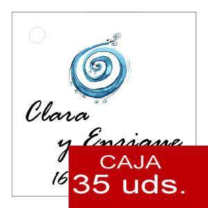 Etiquetas impresas - Etiqueta Modelo C08 (Paquete de 35 etiquetas 4x4)