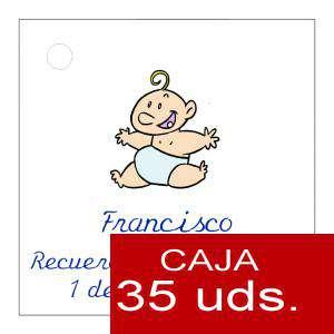 Etiquetas impresas - Etiqueta Modelo C21 (Paquete de 35 etiquetas 4x4)