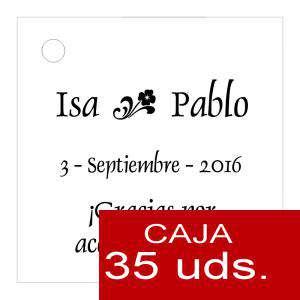 Etiquetas impresas - Etiqueta Modelo D01 (Paquete de 35 etiquetas 4x4)