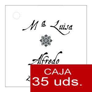 Etiquetas impresas - Etiqueta Modelo F12 (Paquete de 35 etiquetas 4x4)