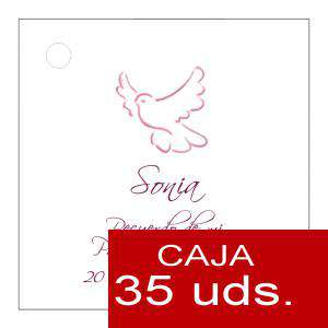 Etiquetas impresas - Etiqueta Modelo F20 (Paquete de 35 etiquetas 4x4)