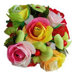 Prácticos mujer - Ramo Grande - Flor Bombón - Color Liso
