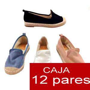 Alta Calidad - Alpargata/ Mocasín - Caja de 12 pares (Últimas Unidades)