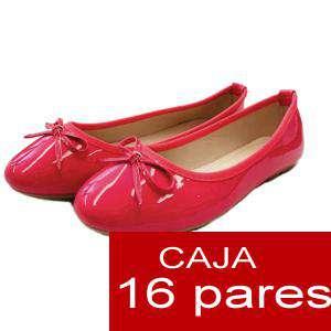 Alta Calidad - Manoletinas 808 FUCSIA - Caja 16 pares (Últimas Unidades)