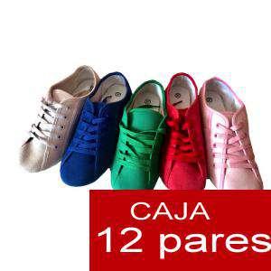 Alta Calidad - Zapatos tipo Bumper con cordones- Caja 12 pares (Últimas Unidades)