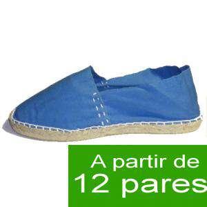 Mujer Cerradas - Alpargatas Cerradas MUJER color Azul Francia - A partir de 12 pares (Últimas Unidades)