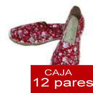 Mujer Estampadas - Alpargatas estampadas FLORES ESPECIALES 4 Caja 12 pares - OFERTA ULTIMAS CAJAS (Últimas Unidades)