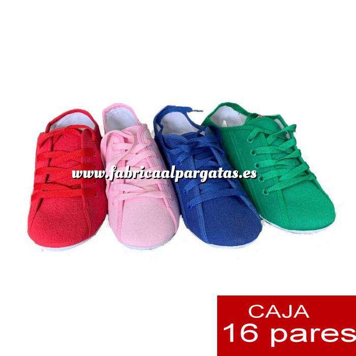 Imagen Alta Calidad Bambas con cordones - Caja 16 pares (OFERTA ESPECIAL VERANO) (Últimas Unidades)