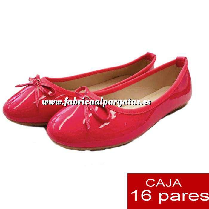 Imagen Alta Calidad Manoletinas 808 FUCSIA - Caja 16 pares (Últimas Unidades)