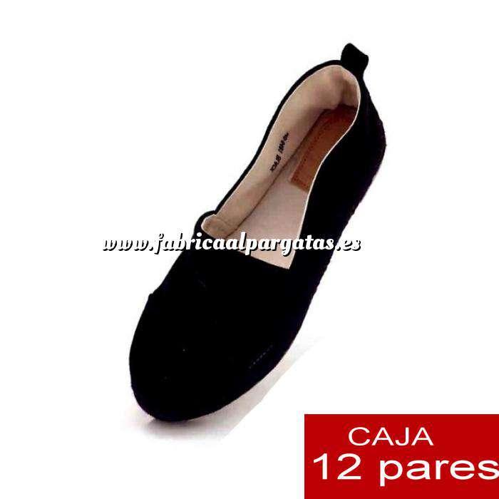 Imagen Alta Calidad Mocasín NEGRO - Caja de 12 pares (Últimas Unidades)