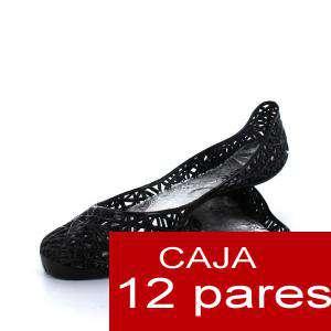 Modelos Economicos - Manoletinas Melissa M.273 BLACK - Lote de 12 pares (Tallaje 2) - TALLAJE 36 a 39 (Últimas Unidades)