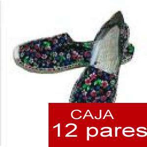 Mujer Estampadas - Alpargatas estampadas FLORES ESPECIALES 1 Caja 12 pares - OFERTA ULTIMAS CAJAS (Últimas Unidades) (duplicado) (duplicado)