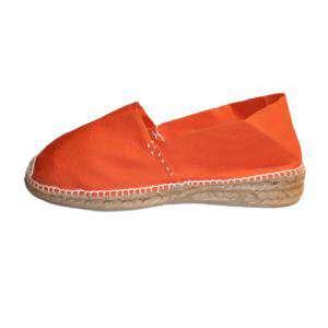 Naranja - CLAS3 Alpargata Clásica Tacón 3 cms Naranja Talla 40