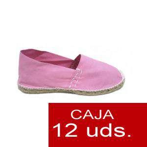 Para Niño - Alpargatas Niño color ROSA LOTE de 12 uds (tallas 28-34)