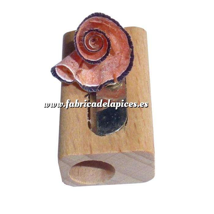 Imagen Cajas madera Caja madera 6 lápices de colores en madera y complementos