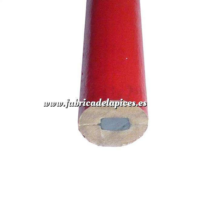 Imagen De Carpintero Lápiz de carpintero de madera rojo